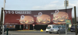 1-2-3-Cheese-Aktion von McDonald's
