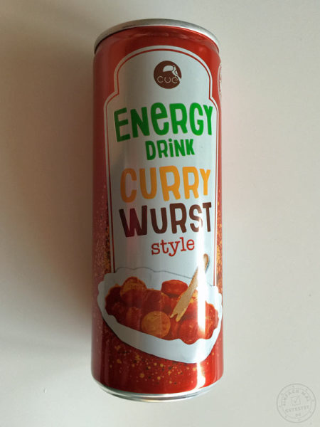 Energydrink Currywurst-Style Dose seitlich